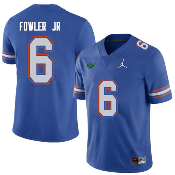 Jordan Brand Men #6 Dante Fowler Jr. Florida Gators College Football Jerseys Sale-Royal
